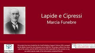 Lapide e Cipressi - Nikola Montebello