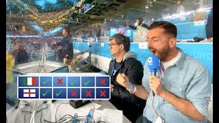 Así narró la emocionante tanda de penaltis del Italia-Inglaterra (Final Eurocopa) Rubén Martín