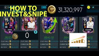 BEST WAY TO INVEST & SNIPE PLAYERS to get 30+MILLION PROFIT| BEST H2H Players & Squad