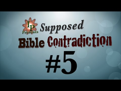 Supposed Bible Contradiction #5 (Where were Joseph and Mary from?)