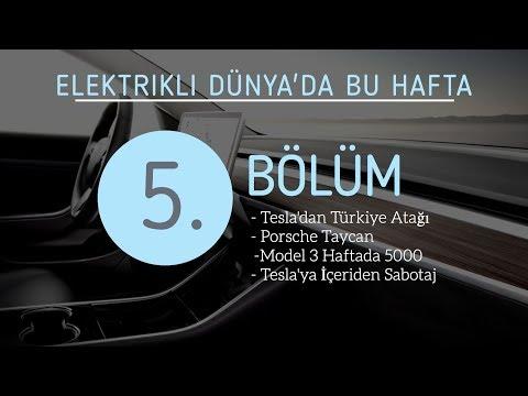 Elektrikli'de Bu Hafta 5: Yerli Araba, Tesla'dan Türkiye Atılımı, Porsche Taycan