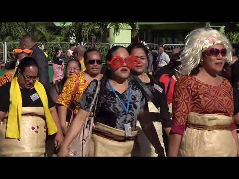 Tonga High School - 70th Anniversary Alumni March
