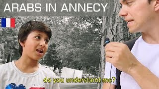Speaking Arabic to Arabs in Annecy