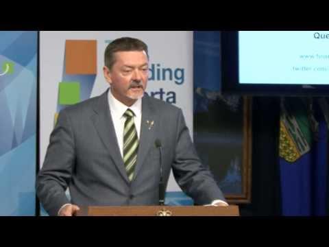 Alberta second quarter budget update