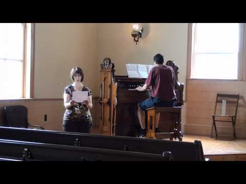 Sing a New Song Unto the Lord - Voice and Karn Reed Organ