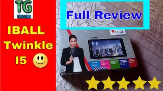 IBALL Twinkle i5 Full Review # Budget Tab #