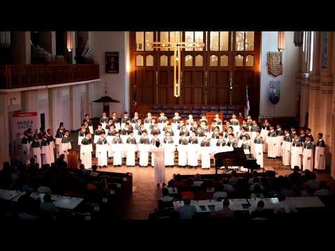 Ave Dulcissima Maria : WYK Boys Choir - The World Choir Games 2012 - Musica Sacra (Part 3 Of 4)
