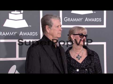 Brian Wilson, Melinda Wilson at The 55th Annual GRAMMY Aw...