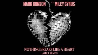 Mark Ronson ft. Miley Cyrus - Nothing Breaks Like a Heart (Amice Remix) MP3