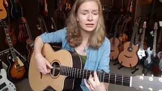 Anne-Marie Sandersons First Experiences With Lowden Acoustic Guitars