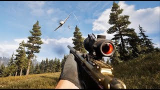 Far Cry 5 Creative Stealth Kills (Outpost Liberation)