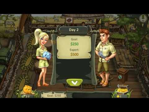 Katy And Bob 2: Safari Cafe[ Dash / Time Management Games]incomplete