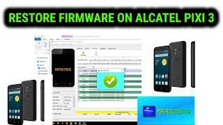 How to flash alcatel pixi 4 using spflash tool