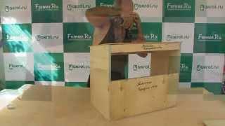 Makrol: видео-урок по сборке маточника для крольчихи