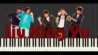 Liu Xing Yu - F4 Piano Tutorial (Synthesia + MIDI)