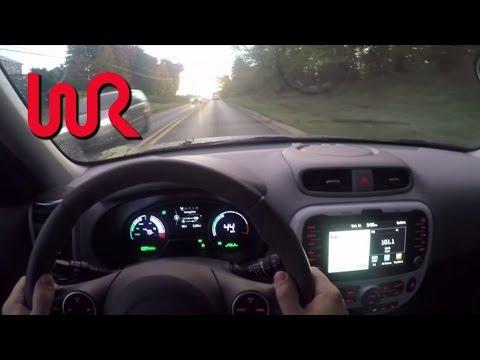 2017 Kia Soul EV+ Electric Car - WR TV POV Review and Test Drive!