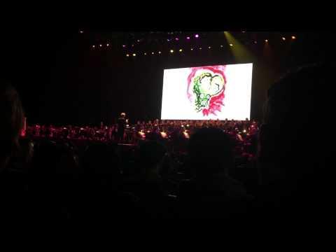 Mars Attacks Main Titles (Danny Elfman @ Nokia Theater 10/31/2014)