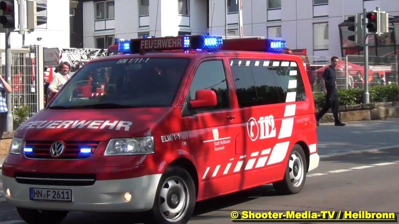 A Alarm Für Die Feuerwehr Heilbronn Löschzug Rückt Zwei Mal Aus Gong Durchsage