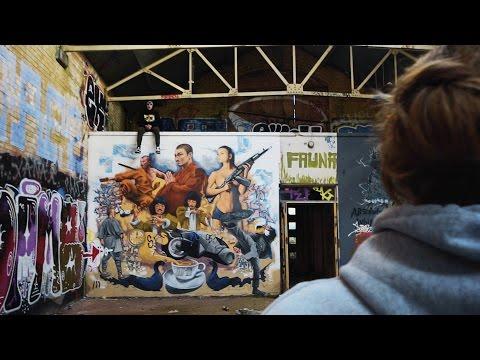 COOL GRAFFITI Found In ABANDONED Waterworks, Urban Exploring