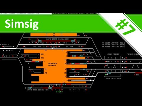 Prepping the Rush Hour - Ep.7 - Edinburgh - Simsig - Railway Signaller Simulator