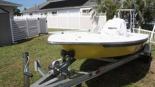 Used 2008 Sterling Powerboats Tr7 Tec. Polling Skiff For Sale In Cape Coral, Florida