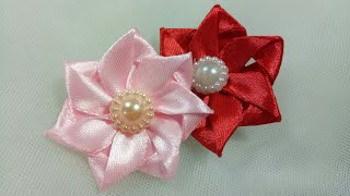 Made from satin ribbon size 2 cm . Original post in my blog see bel...