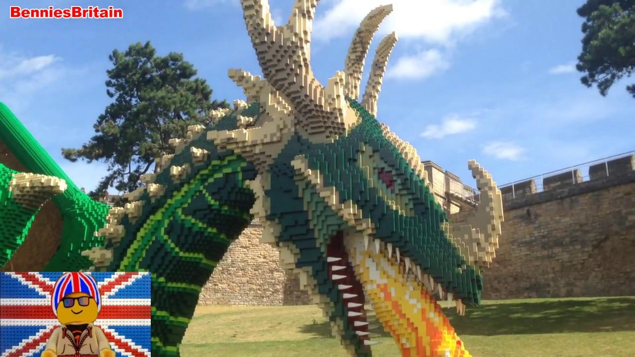 The Amazing Kingdom Lego Brick Show At Lincoln Castle Youtube