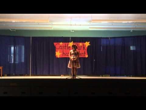 Gr.4 Claire: Talent show @ Castle park elementary school