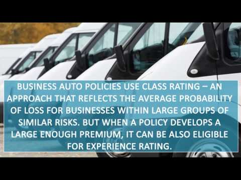 Commercial Auto Insurance Rating System
