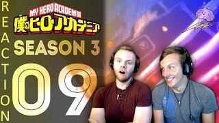 SOS Bros React - My Hero Academia Season 3 Episode 9 - ALL FOR ONE!!