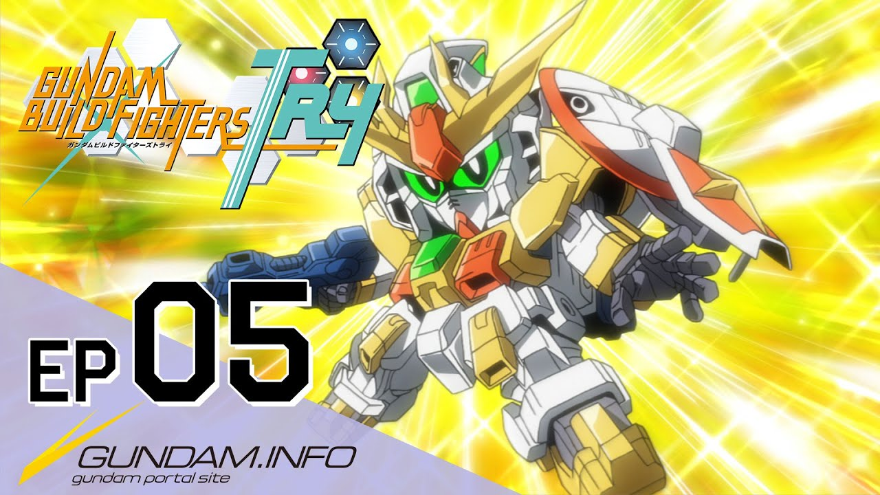 Gundam build fighters try episode 5 dream and challenge for Domon kasshu build fighters try