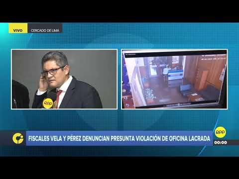 """José Domingo Pérez sobre Pedro Chávarry: """"Es insostenible su puesto de fiscal supremo"""""""