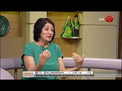 17 İyün (bozarğan) 2014 Saba Erte ATR-de Muniver Gafarova Qırımtatarca - 17/06/14 Crimean Tatar TV