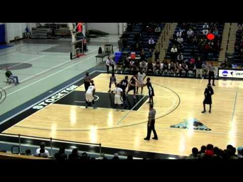 Mike Burton - Kean University v. Stockton - Feb. 26, 2014 - Dark Uniform #5