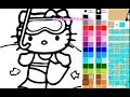 Enjoy Hello Kitty Images And Pictures Online To Color And To Draw