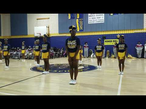 Bear Lakes Middle School Cheerleaders 12.07.18