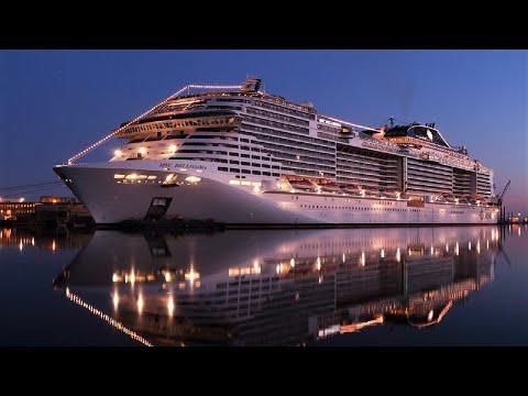MSC Bellissima cruise ship full video 4K