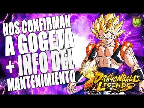 DEMASIADO HYPE! GOGETA CONFIRMADO + MANTENIMIENTO ANUNCIADO /// DRAGON BALL LEGENDS EN ESPAÑOL