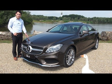 2017 Mercedes CLS 400 4MATIC AMG Review Drive Interior Exterior