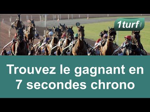 Trouvez un gagnant au PMU en 7 secondes chrono