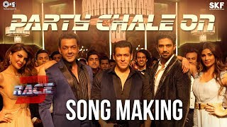 Party Chale On Song Making Race 3 Behind the Scenes | Salman Khan | Mika Singh, Iulia Vantur