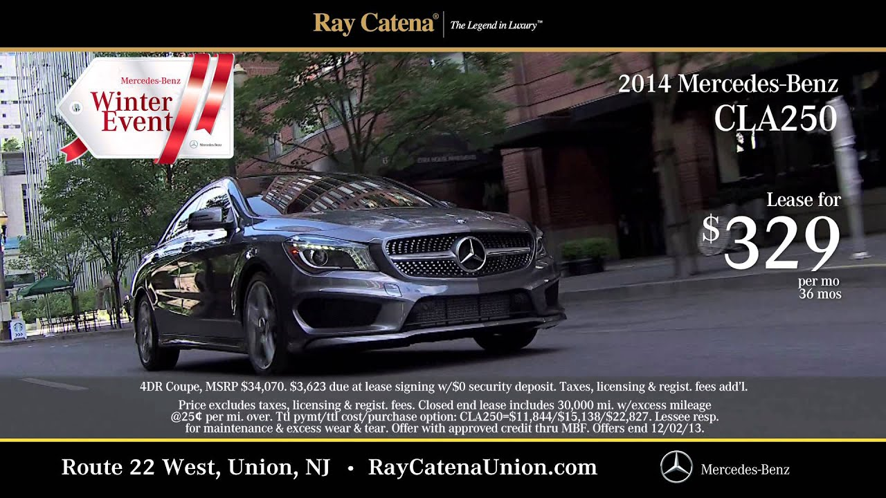 Ray catena mercedes benz union tv commercial november 2013 for Ray catena mercedes benz