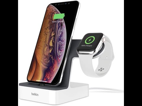 Review Belkin Powerhouse Charge Dock For Apple Watch + IPhone Charging Dock