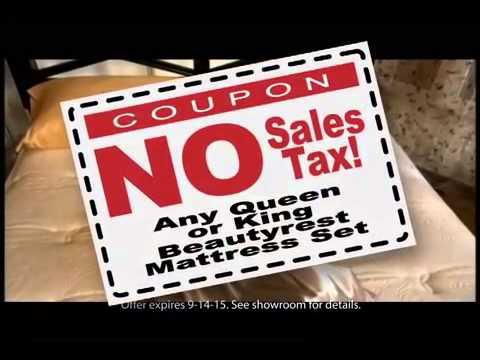 Matthews Mattress Labor Day 2015 Mattress Sale - YouTube