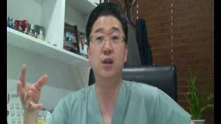 Doctor discussing fat stem cell therapy