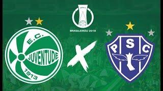 Juventude 1 x 1 Paysandu - Gols e Melhores Momentos (Completo HD) Campeonato Brasileiro Série B 2018