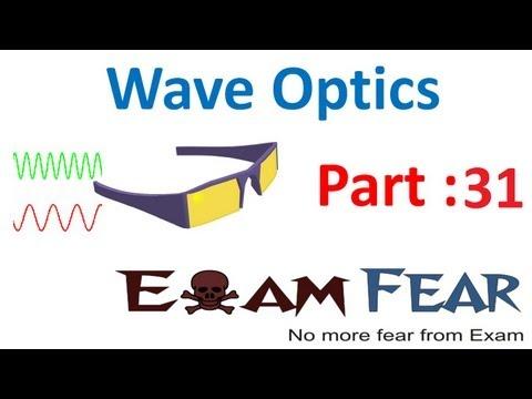 Physics Wave Optics part 31 (Polarization by reflection & Refraction) CBSE class 12