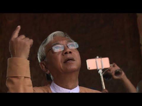 El presidente de Birmania Htin Kyaw renuncia a su cargo