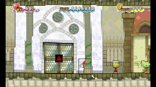 super paper mario glitches and secrets of each town