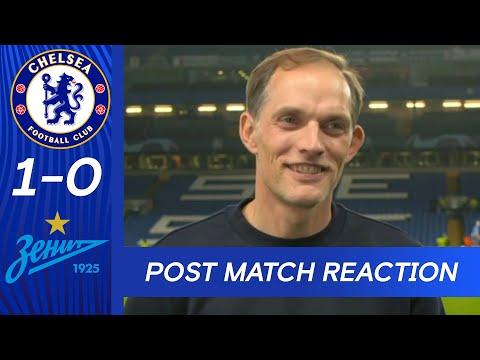 Tuchel reacts to the Champions League victory |  Chelsea 1-0 Zenit Saint Petersburg |  Champions League